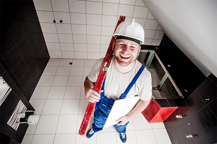 Afwerking bouw - plaatser vloeren - tegelzetter